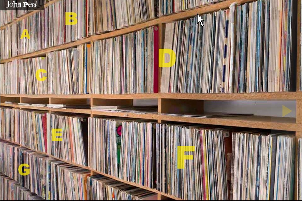 Record Shelf What Your Record Collection Can Do For Your