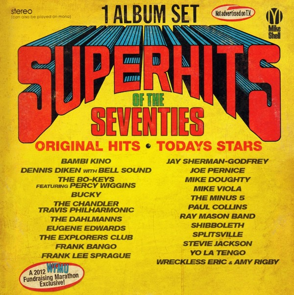 cover of VARIOUS ARTISTS - Superhits Of the Seventies: Original Hits, Today's Stars