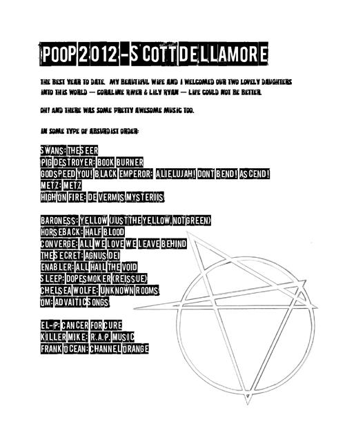 Scott DellAmore Poop 2012 Page 1