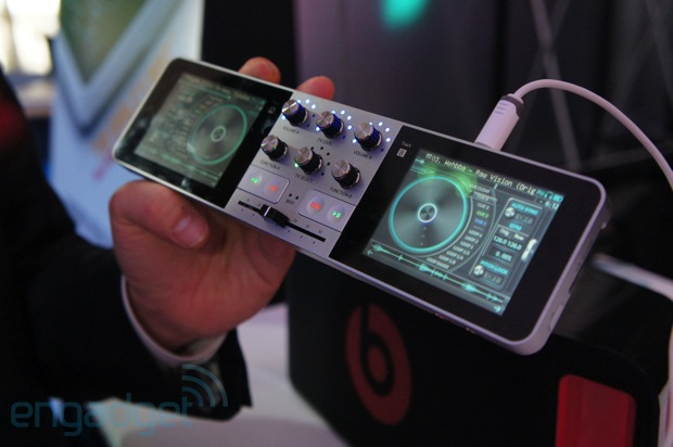 PDJ Handheld Mixer - via Engadget