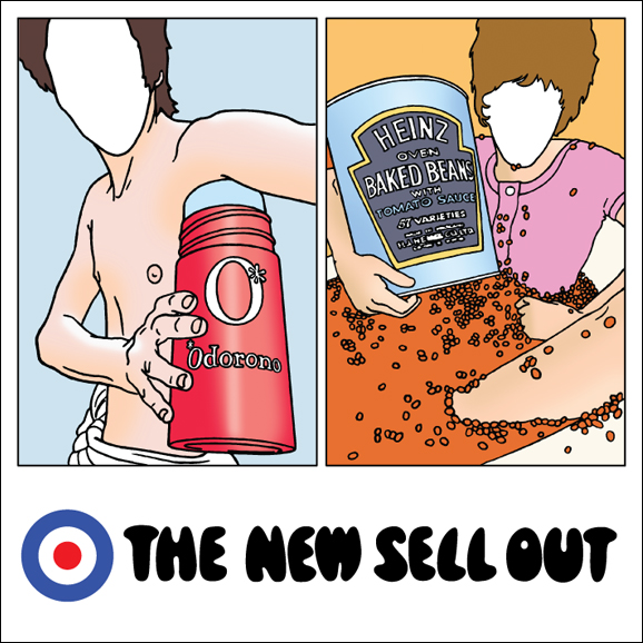 cover of VARIOUS ARTISTS - The New Sell Out