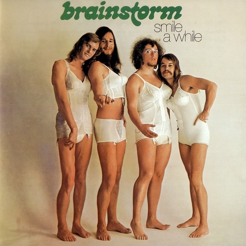 "Brainstorm - Smile a While"" LP cover"
