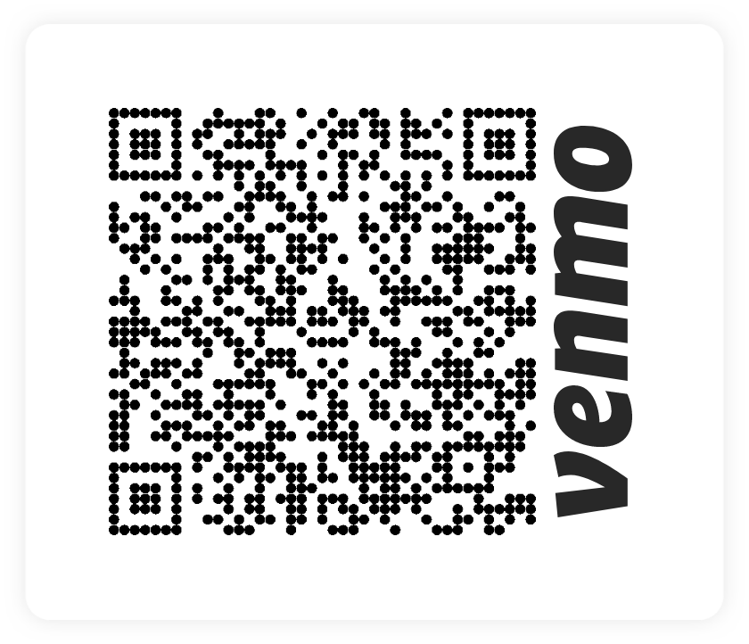 Venmo QR code for mark-zip